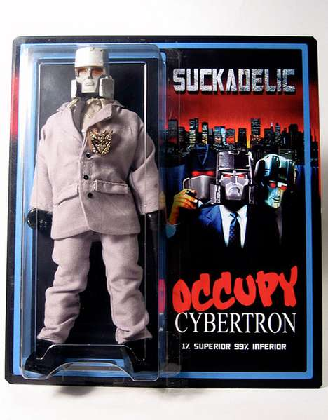 Robotic Occupy Action Figures