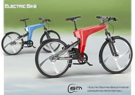 Sporty Battery Pack Bikes