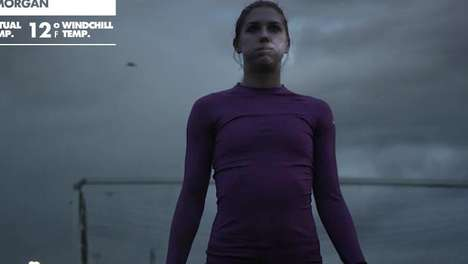 Athletic Perseverance Games - Nike 'Angry Winter' Campaign Wants You to Fight the Cold
