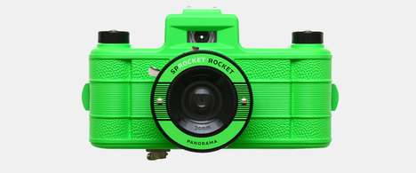 Updated Analogue Cameras - Break the Rules with the Lomography Sprocket Rocket