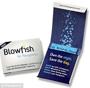 Medicinal Hangover Aids - The Blowfish Pill Will Put More Pep in Your Post-Party Step