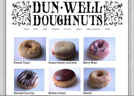 Doughy Vegan Delights - Dun-Well Doughnuts is All About Being Animal-Friendly