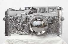 Massive Silver Cameras - The Photographic Equipment by Liao Yibai Doesn't Need Zoom