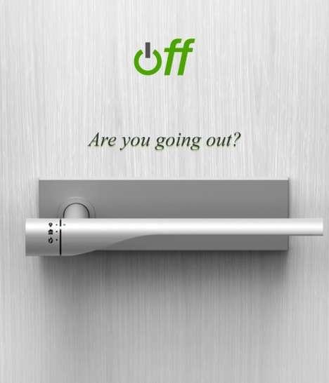 Gas-Cutting Door Knobs