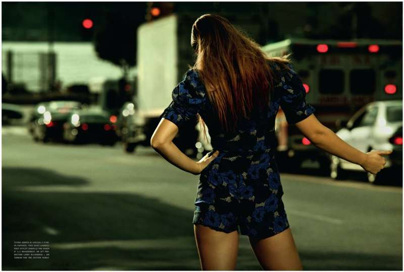 Hitch-Hiking Model Editorials