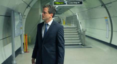 Commuter-Stopping Campaigns - The Figleaves Ad Causes a Stir on the London Underground