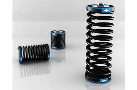 Springy Concept Fuel Cells