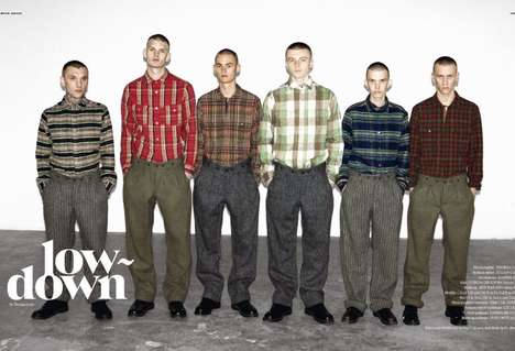 Cloned Plaid Pictorials