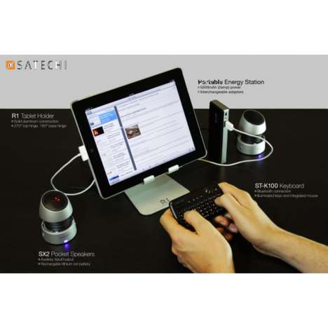 Clamshell Tablet Docks