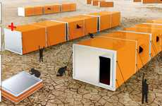 Musical Emergency Shelters - The Accordion Tent is Designed to House Disaster Victims
