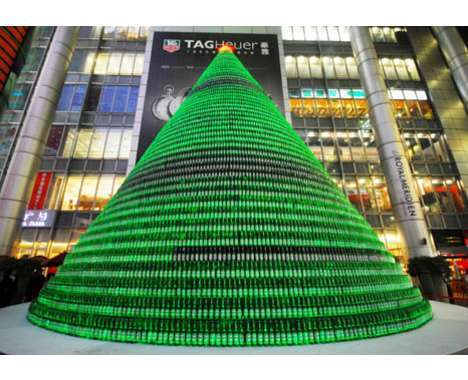 14 Marvelous Man-Made Christmas Trees