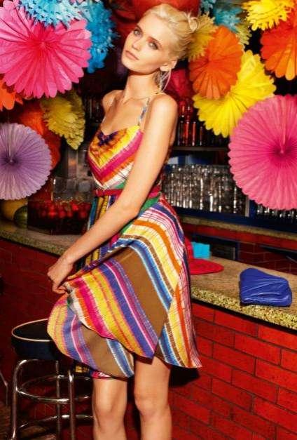 Vibrantly Festive Fashion