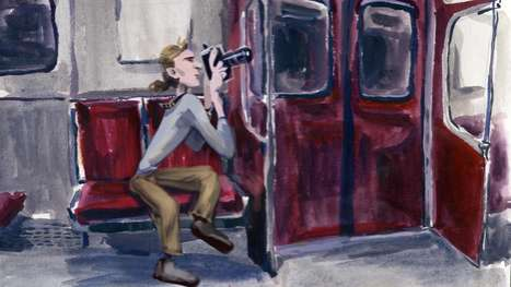 Cute Commuter Caricatures
