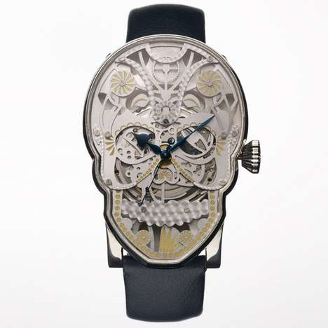 Skull-Faced Timepieces