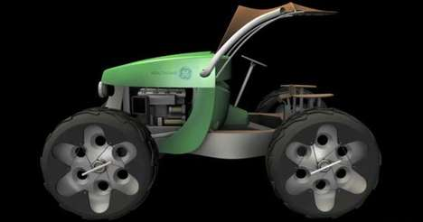 Eco-African Farming Equipment - The GE Multipurpose Farming Vehicle is Designed for Ugandan Farmers