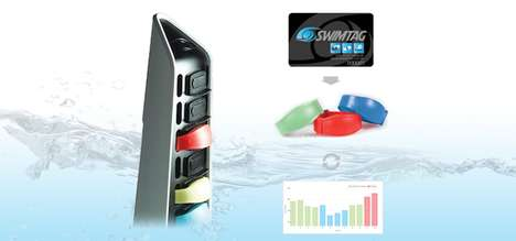 Social Swimming Stat Trackers