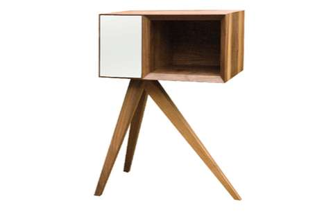 Lunging Bedside Tables