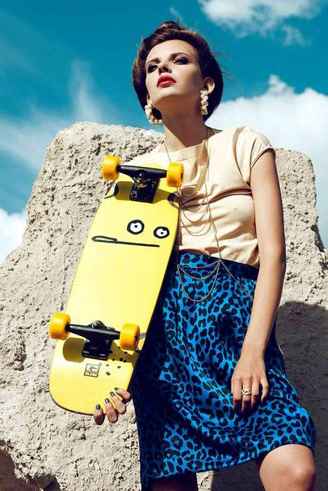 Couture Skateboarding Shoots