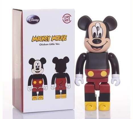 Mutated Cartoon Figurines