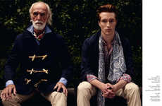 Dual Generation Editorials - The David Gant & James Cooper for Schon! Shoot is Ageless