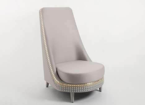 Simple Studded Seating
