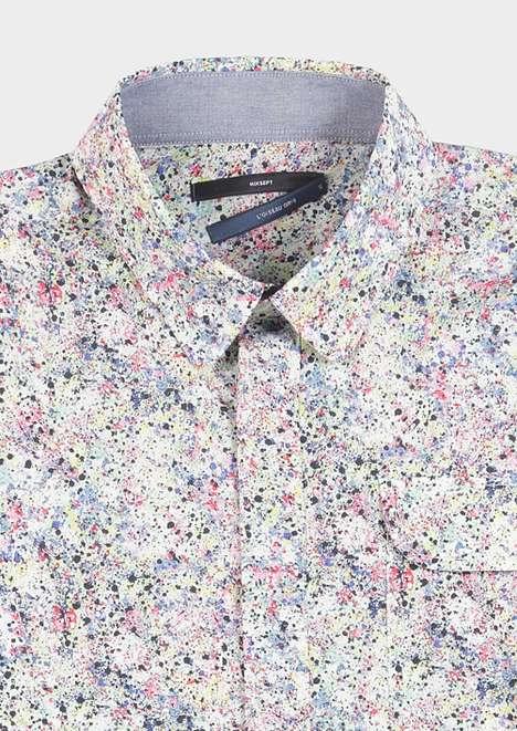Splattered Paint Shirts