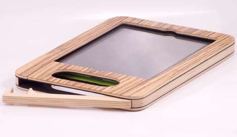 Timber-Inspired Tablet Cases