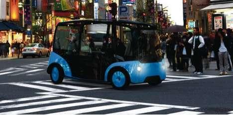 Autonomous Minibus Cabs