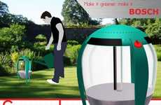 Self-Reliant Watering Systems - The Surculus Sprinkler Takes the Hassle Out of Watering the Lawn