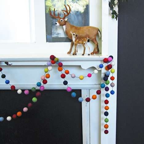 Rainbow-Inspired Festive Garlands