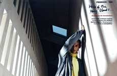 Angled Architectural Editorials - The Philipp Bierbaum for Wallpaper Shoot Fuses Design and Fashion