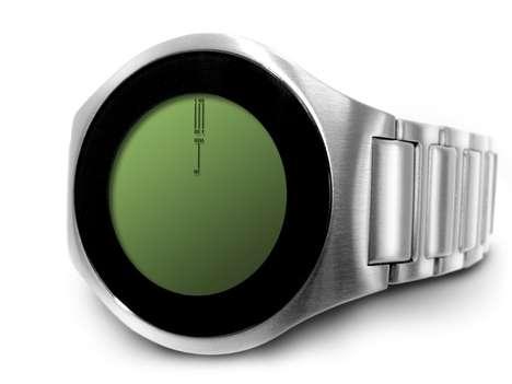 Minimalist Touchscreen Timepieces