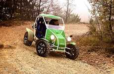 Eco Off-Road Vehicles - The Electric Race Xtreme Buggy Proves Green Can be Mean