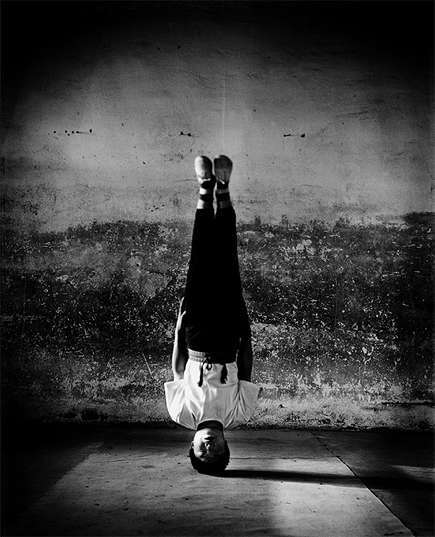 Disciplined Athlete Captures