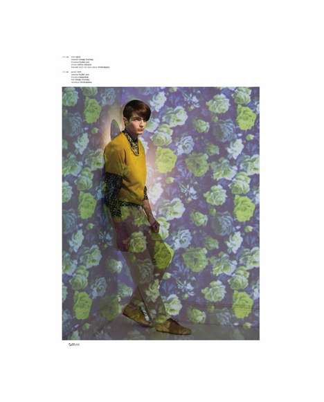 Projected Floral Editorials