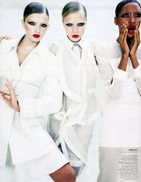 Intense Trio Editorials