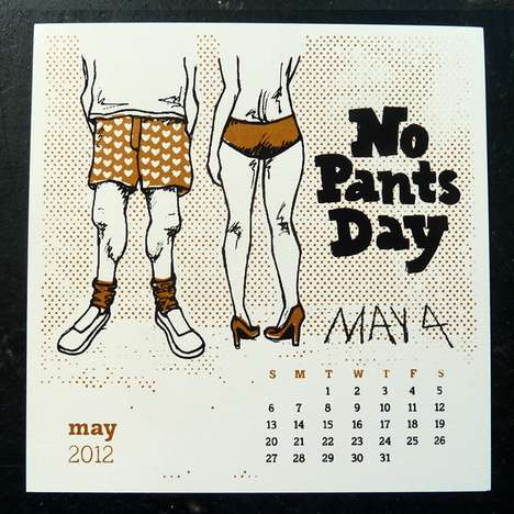 The 2012 Calendar of Silly Holidays Makes Each Month Monumental
