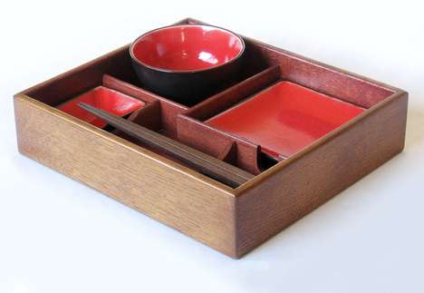 Wine Barrel Bento Packs