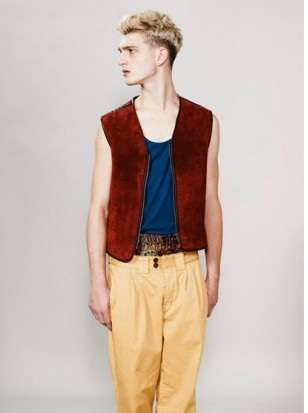 Effeminate Male Fashion - The TopMan Spring Collection Embellishes Flamboyance and Patterns