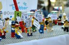 Building Block World Events - The News in LEGO 2011 Series Recreates the Year's Top Stories