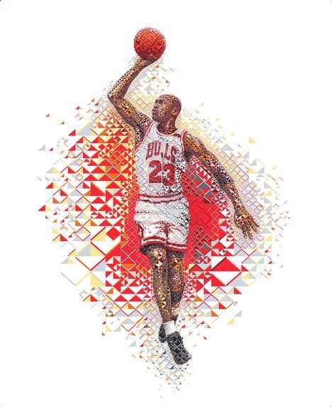 Sport Legend Mosaics