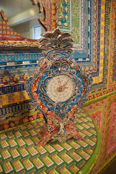 Lottery Ticket Sculptures