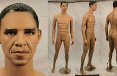 Plasticized Presidential Dummies - The Barack Obama Mannequin is a Realistic World Leader Replica