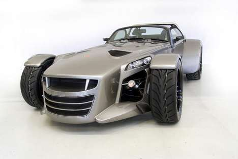 Sleek Steely Sportscars
