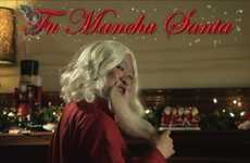 Hair-Swapping Santa Skits - The College Humor 'Twelve Beards of Christmas' Short is Holiday Hilarity