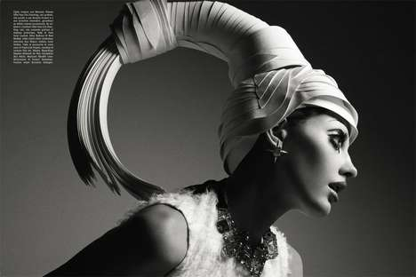 Extreme Headpiece Editorials