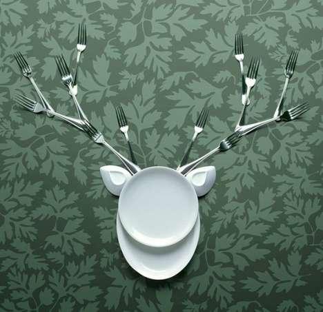 Animalistic Cutlery Creations