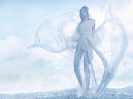 White-Washed Angelic Shoots