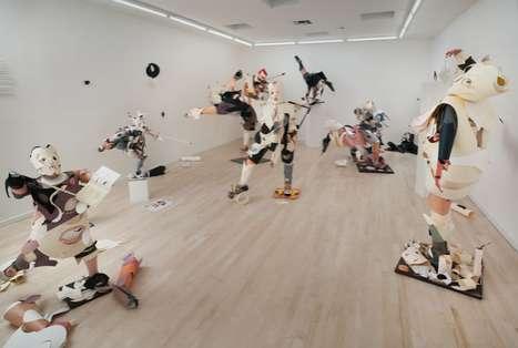 Chaotic Paper Sculptures