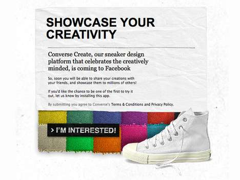 Custom Canvas Kicks - 'Converse: Made By' Lets You Customize and Share Soles